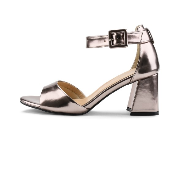 Chloe in Metallic Pewter