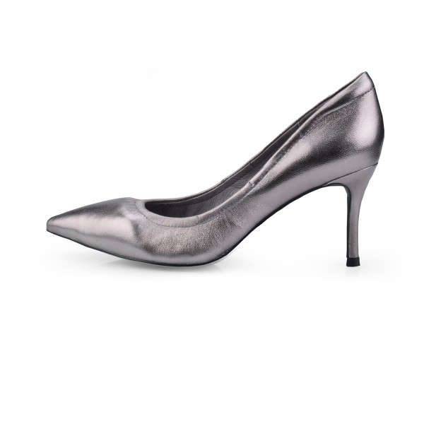 Cinderella in Metallic Pewter