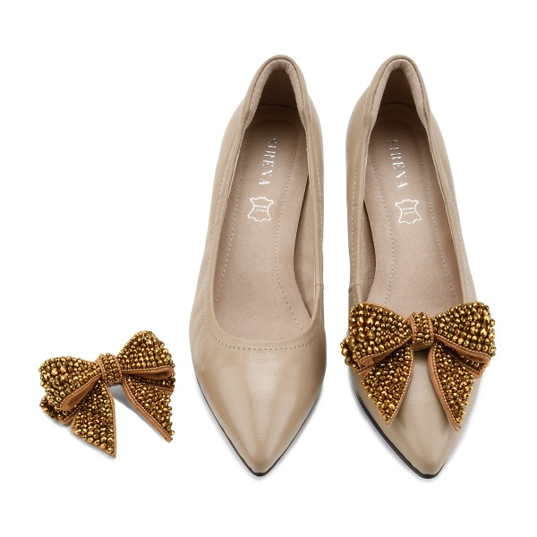 Queen Of Bow in Gold
