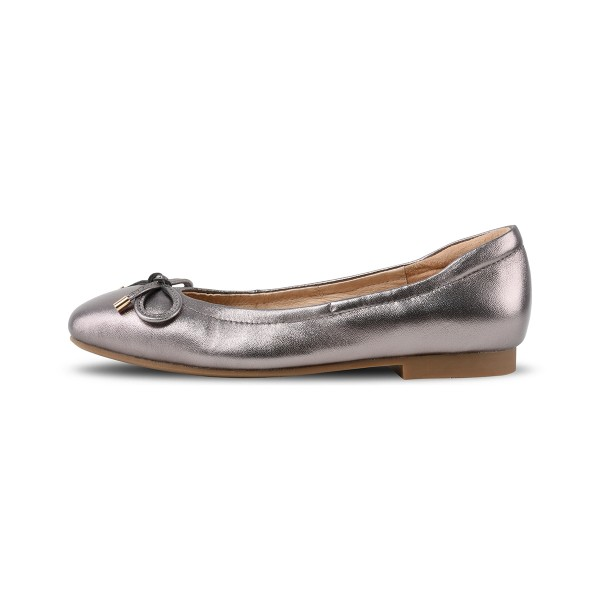 Camelle in Metallic Pewter (NEW EDITION)