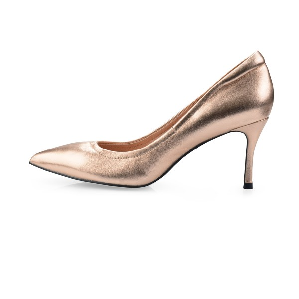 Cinderella in Metallic Rose Gold
